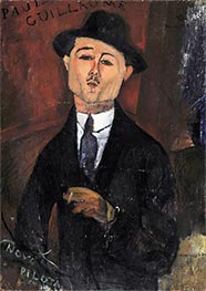Modigliani | Paul Guillaume, Novo Pilota, 1915 | Giclée Canvas Print