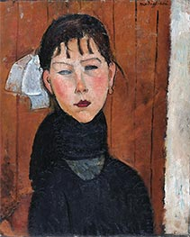Modigliani | Marie, Daughter of the People, 1918 | Giclée Canvas Print