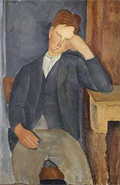 Modigliani | The Young Apprentice, c.1918/19 | Giclée Canvas Print