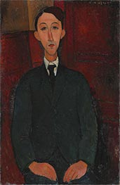 Modigliani | Portrait of the Painter Manuel Humbert | Giclée Canvas Print