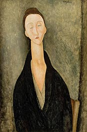 Lunia Czechowska, c.1918 by Modigliani | Giclée Canvas Print