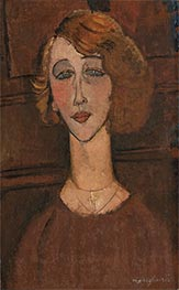 Renée, 1917 by Modigliani | Giclée Canvas Print