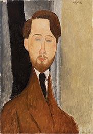Léopold Zborowksi, 1919 by Modigliani | Giclée Canvas Print
