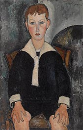 Boy in Sailor Suit, 1917 by Modigliani | Giclée Canvas Print