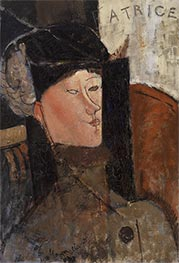 Beatrice, 1916 by Modigliani | Giclée Canvas Print