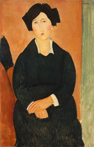 The Italian Woman, c.1918/19   Modigliani   Painting Reproduction