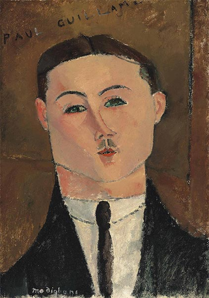 Paul Guillaume, 1916   Modigliani   Painting Reproduction
