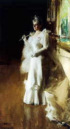 Anders Zorn | Mrs. Potter Palmer | Giclée Canvas Print