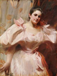Frieda Schiff, Later Mrs. Felix M. Warburg, 1894 by Anders Zorn | Giclée Canvas Print