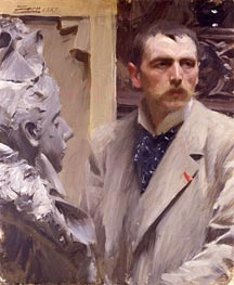 Anders Zorn | Self-Portrait | Giclée Canvas Print