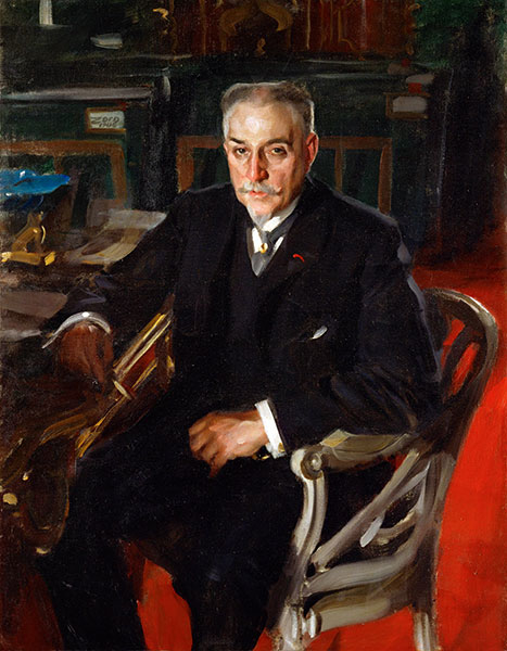 Alfred Beurdeley, 1906 | Anders Zorn | Painting Reproduction