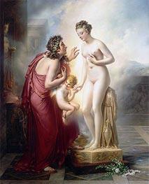 Girodet de Roussy-Trioson | Pygmalion and Galatea, c.1813/19 | Giclée Canvas Print