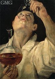 Annibale Carracci | Boy Drinking, c.1582/83 | Giclée Canvas Print