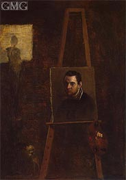 Annibale Carracci | Self-Portrait, c.1604 | Giclée Canvas Print