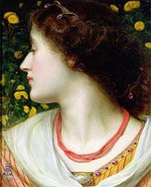 Sandys | La Belle Isolde, 1862 | Giclée Canvas Print