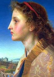 Sandys | Oriana, 1861 | Giclée Canvas Print