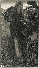 Sandys | Harold Harfagr, 1862 | Giclée Paper Print