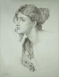 Sandys | Woman's Head, undated | Giclée Paper Print