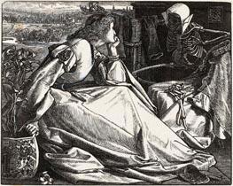 Sandys | Until her Death, 1862 | Giclée Paper Print