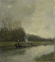 Towing Vessel, c.1860/88 by Anton Mauve   Giclée Canvas Print