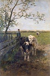 The Milk Bend, c.1870/88 by Anton Mauve   Giclée Canvas Print
