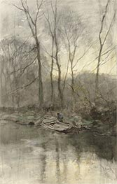 Forest Edge on the Water, c.1848/88 by Anton Mauve   Giclée Paper Print