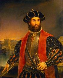 Vasco da Gama, 1838 by Antonio da Fonseca | Giclée Canvas Print