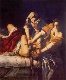 Artemisia Gentileschi | Judith Slaying Holofernes, c.1620 | Giclée Canvas Print