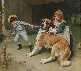 Friend or Foe, 1891 by Arthur John Elsley | Giclée Canvas Print