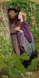 Arthur Hughes | The Long Engagement, 1859 | Giclée Canvas Print