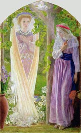 Arthur Hughes | The Annunciation, c.1858 | Giclée Canvas Print