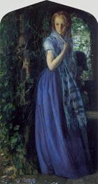 Arthur Hughes | April Love, 1855 | Giclée Canvas Print