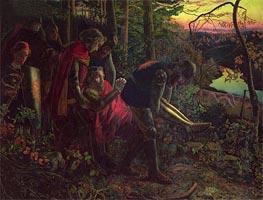 Arthur Hughes | The Knight of the Sun, c.1859/60 | Giclée Canvas Print