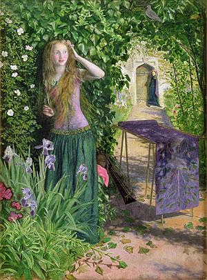 Fair Rosamund, 1854   Arthur Hughes   Painting Reproduction