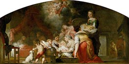 Murillo | The Birth of the Virgin, 1661 | Giclée Canvas Print