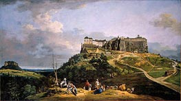 Bernardo Bellotto | The Fortress of Konigstein, c.1756/58 | Giclée Canvas Print
