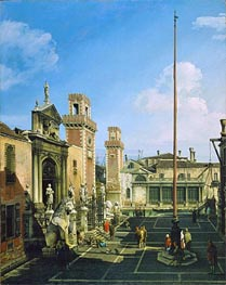 Bernardo Bellotto | The Arsenal, Venice, c.1742 | Giclée Canvas Print