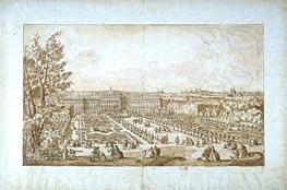 Bernardo Bellotto | View of Vienna (Belvedere Palace Gardens), undated | Giclée Paper Print