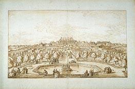 Bernardo Bellotto   View of Vienna (Belvedere Palace Gardens), undated   Giclée Paper Print