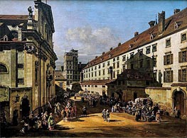 Bernardo Bellotto | The Dominican's Church in Vienna, c.1758/61 | Giclée Canvas Print