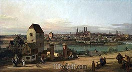 Bernardo Bellotto | Munich from the East, 1761 | Giclée Canvas Print
