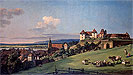 Bellotto - View of Pirna from the Sonnenstein Castle - Art Print / Posters