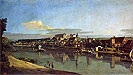 Bellotto - View of Purna from the Right Bank of the Elbe - Art Print / Posters