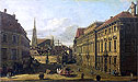 Bellotto - A view of the Lobkowicz Palace in Vienna - Art Print / Posters