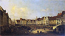 Bellotto - Old Market-Place in Dresden - Art Print / Posters