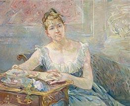 Louise Riesener, c.1888 by Berthe Morisot | Giclée Canvas Print
