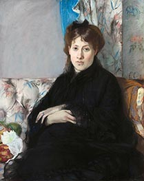 Portrait of Madame Edma Pontillon, c.1871 by Berthe Morisot | Giclée Canvas Print