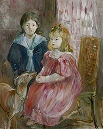 The Children of Gabriel Thomas, c.1894 by Berthe Morisot | Giclée Canvas Print