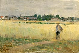 In the Wheat, c.1875 by Berthe Morisot | Giclée Canvas Print