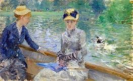 Summer's Day, c.1879 by Berthe Morisot | Giclée Canvas Print